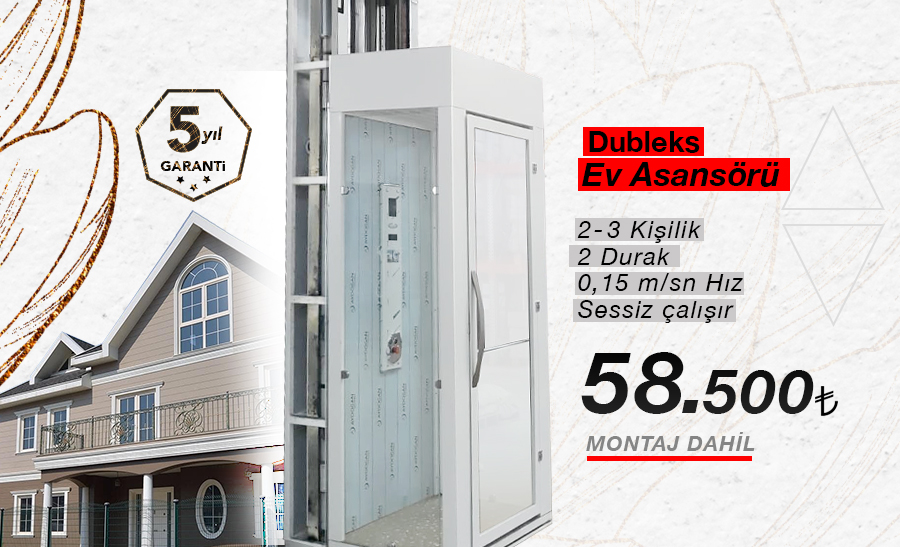 DUBLEKS-EV-ASANSORU